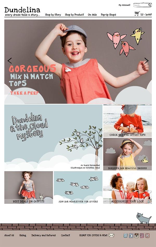 Gorgeous webshop ♥  www.dundelina.com