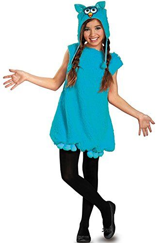 Disguise Hasbro Voodoo Teal Furby Deluxe Tween Costume 46X >>> Check out the image by visiting the link.