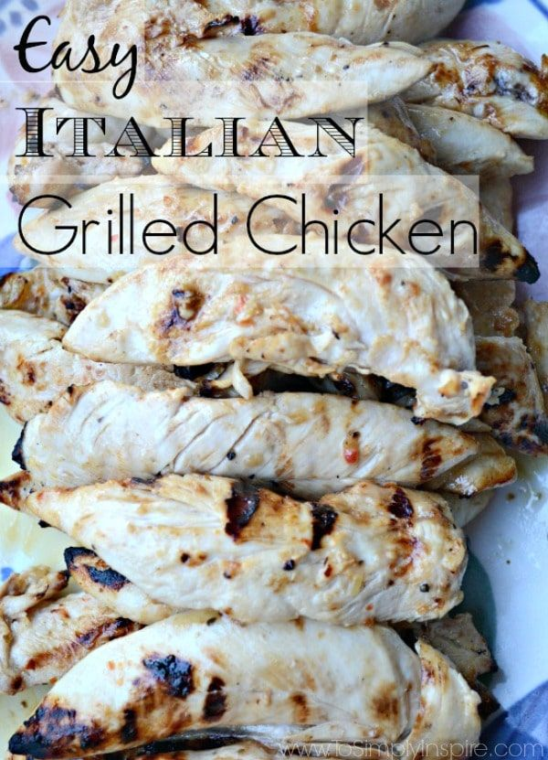 Italian Grilled Chicken