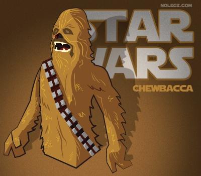 Star Wars by Nolegz.com - #Chewbacca