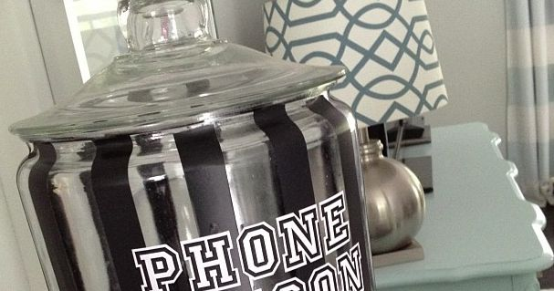 Phone Prison...maybe will be electronics prison instead