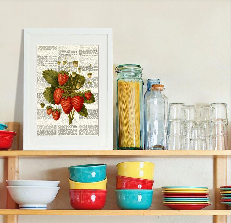 Fruit Wall Decor Kitchen