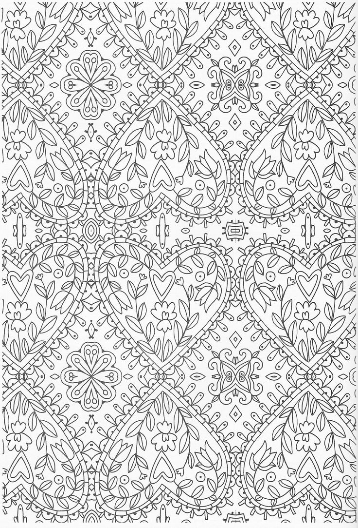Scandinavian Coloring Book Pg 50