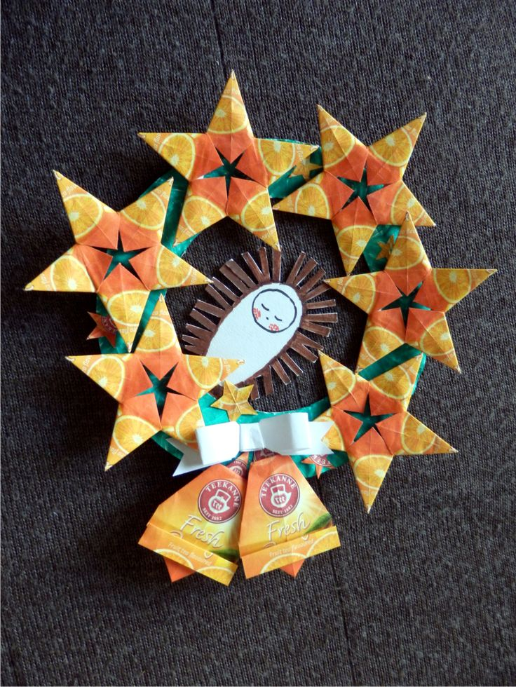 čajové obálky - vánoční motiv