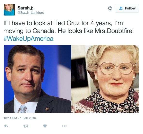 Here Are A Bunch Of Things People Think Ted Cruz Looks Like