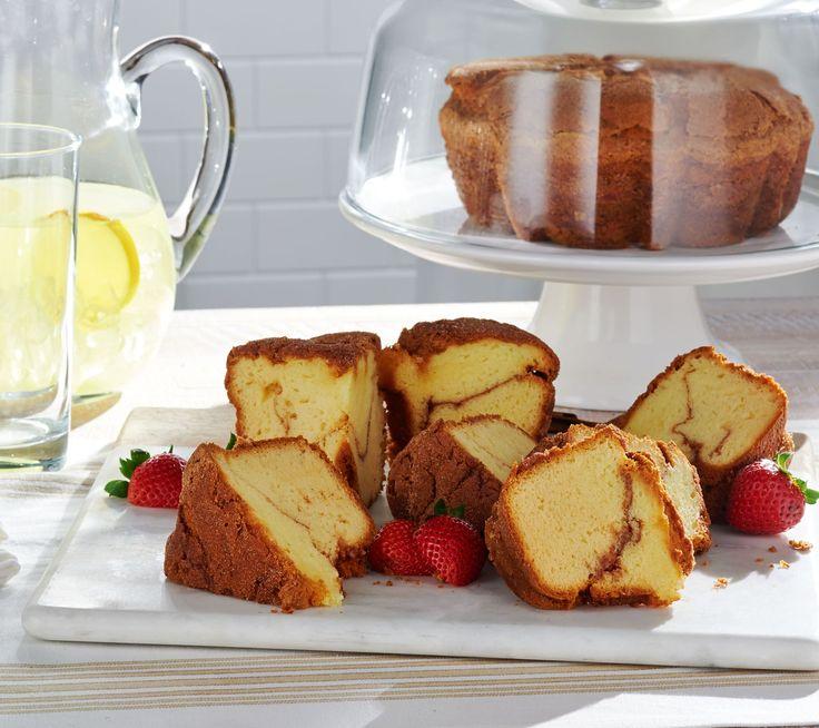 QVC SHOPPING NETWORK / Cinnamon Walnut Cake