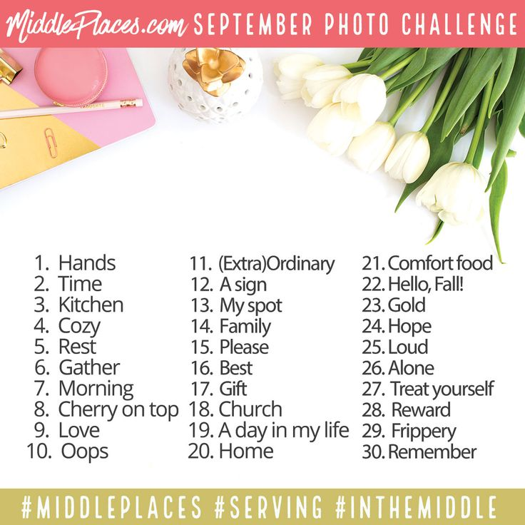 September 2016 photo challenge                              …