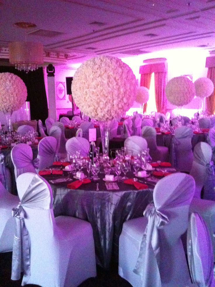 Large Rose Ball Centerpieces