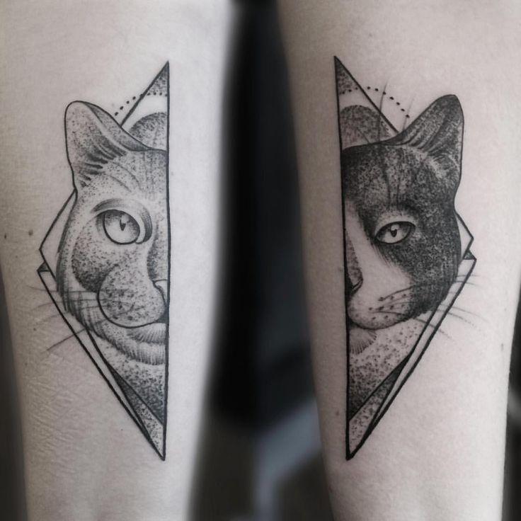 geometric tattoo animal – Google Search