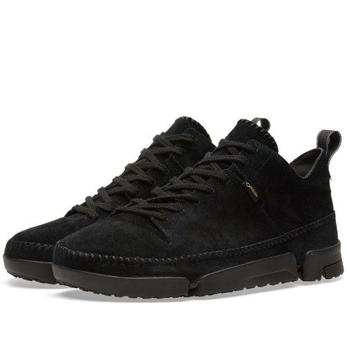 Clarks Originals Trigenic Dry Gore-Tex (Black Suede)