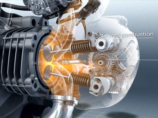 bmw r1200gs inside: super 3d animation boxer motor | bmw