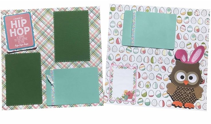 Check out this Easter scrapbook layout tutorial made with a Silhouette CAMEO. Get money saving tips to keep your project costs down.