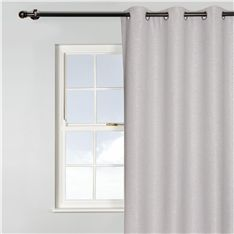 curtain eyelet ruched 2pack 250x140cm