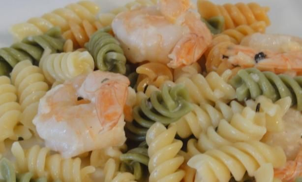 Buttery Shrimp And Pasta Recipe