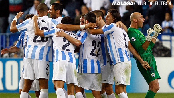 J3 UEFA Champions League: Málaga CF, 1 - AC Milan, 0