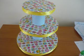 Mariana's Bakery: Como Hacer tu propio exhibidor para cupcakes
