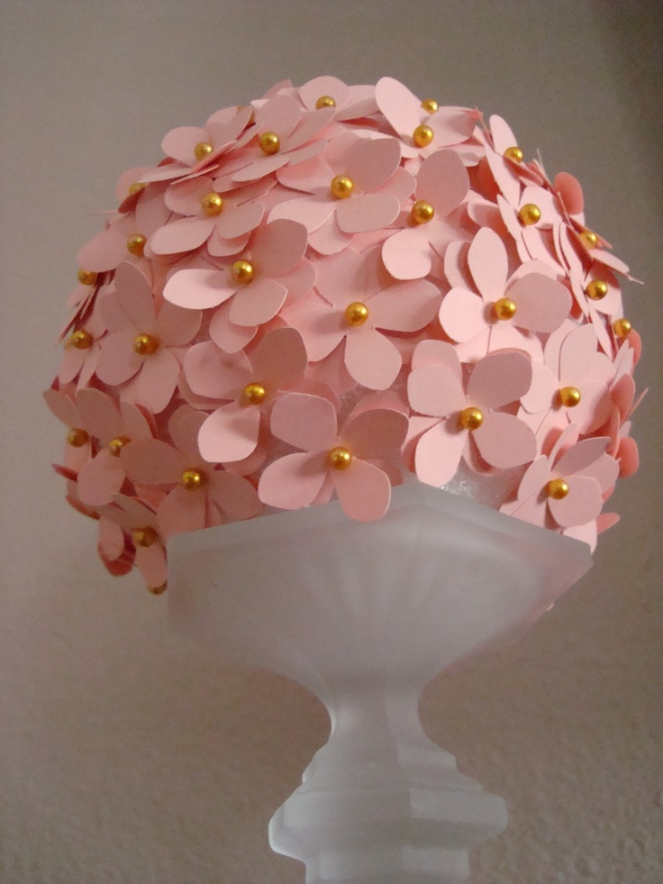 foam balls craft ideas paper punch pins and styrofoam flower pomander 4483