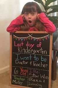 Last Day of School Chalkboard | eBay