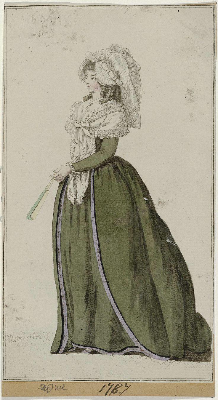 Journal des Luxus und der Moden, april 1787, Georg Melchior Kraus, 1787
