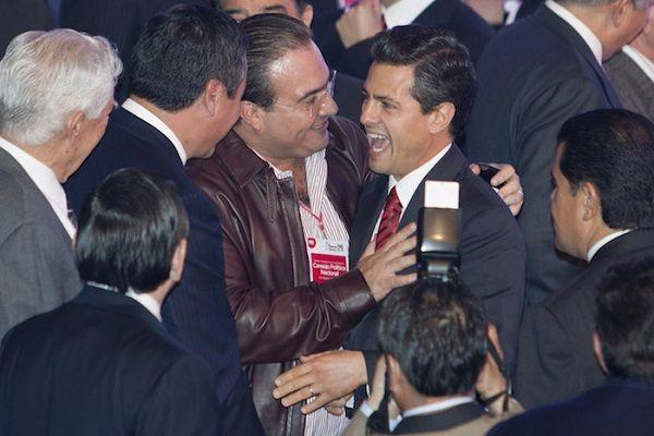 Javier Duarte lanza amenazas a Peña Nieto