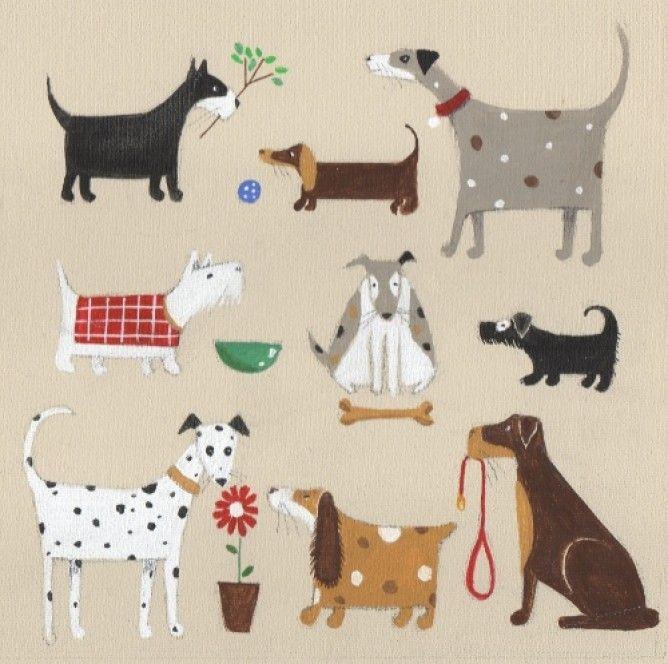 Nine Dogs Louise Rawlings