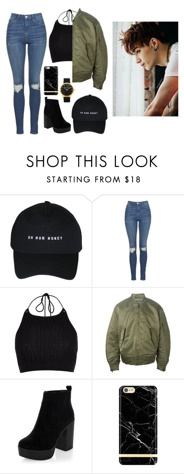 """Supporting JB at his concert"" by got7outfits ❤ liked on Polyvore featuring Topshop, River Island, adidas Originals and New Look"