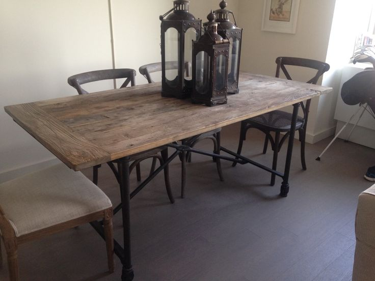 460 Restoration Hardware Flatiron Table Originally Paid