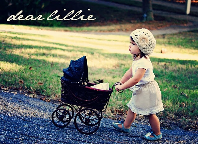 would love to find a vintage baby doll stroller like this one for elise