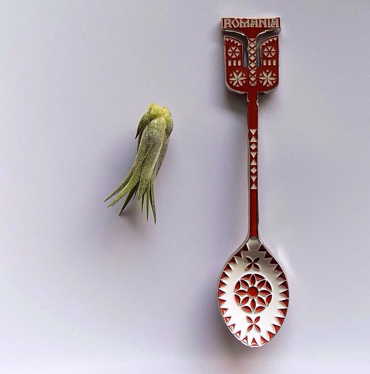 A personal favourite from my Etsy shop https://www.etsy.com/listing/574935745/small-metal-spoon-romanian-folk-art