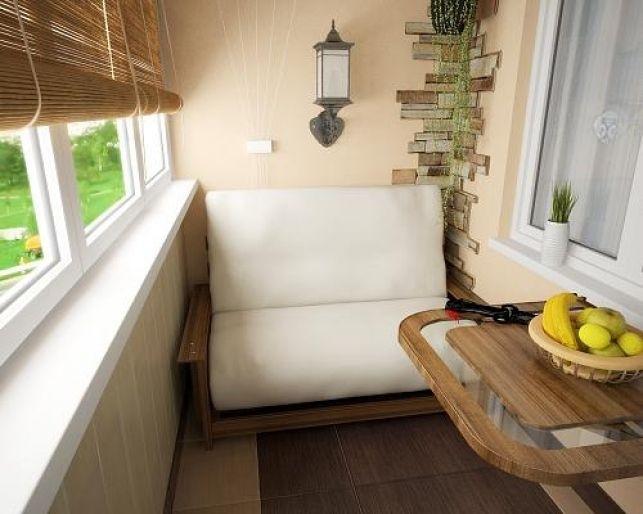 35 de idei pentru amenajarea unui balcon mic - imaginea 25