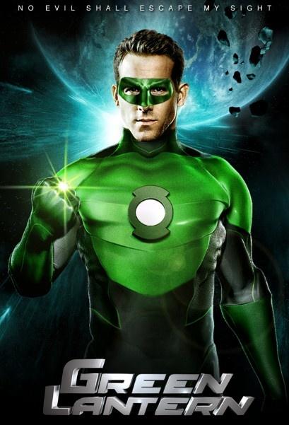 Ryan Reynolds as The Green Lanturn