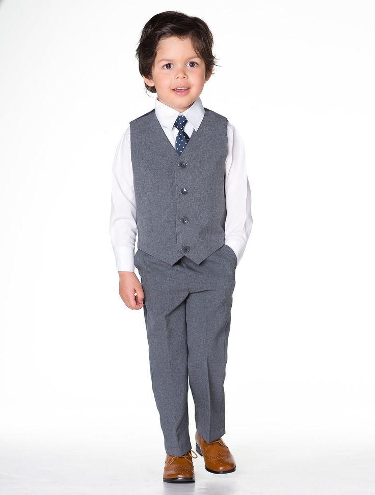 Boys grey page boy outfit | Baby boys wedding suit | Roco …                                                                                                                                                                                 More