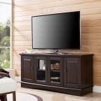 52 in. Espresso (Brown) Wood TV Media Stand Storage Console