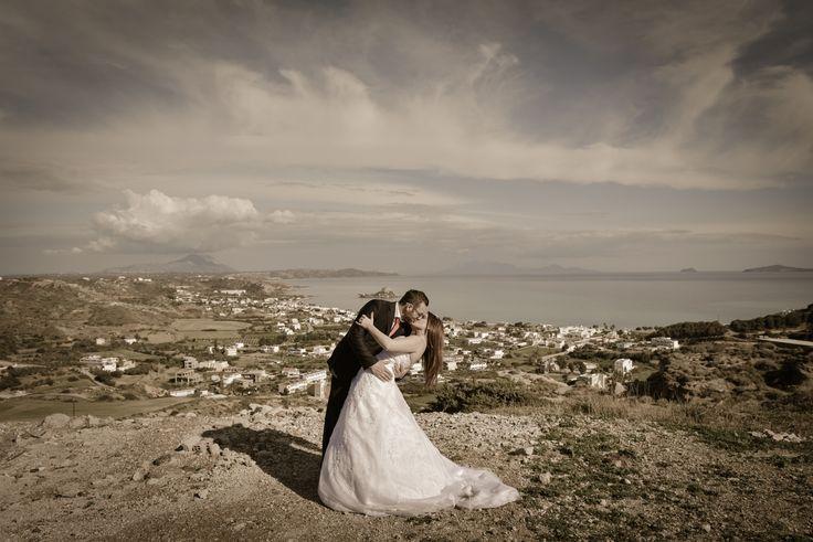 Wedding photographer in Greek islands