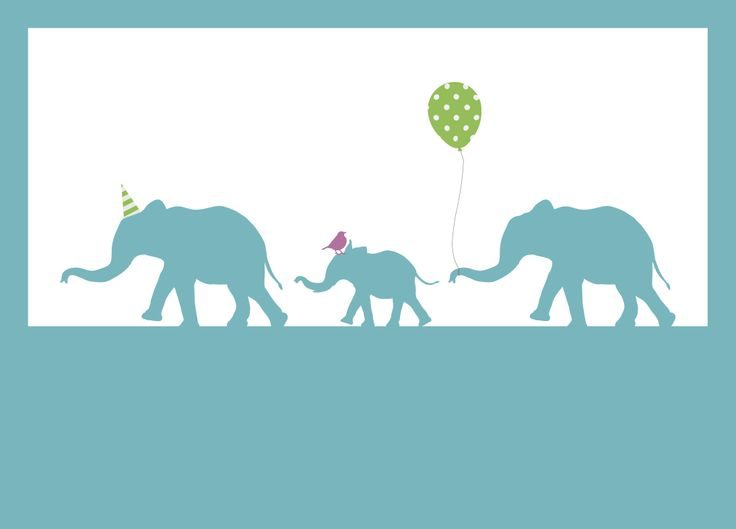 New for Spring/ Summer 2014, elephant greetings cards by Pigeon. For every card sold a donation is made to Medecins Sans Frontieres, the charity which provides medical aid where it is most needed.