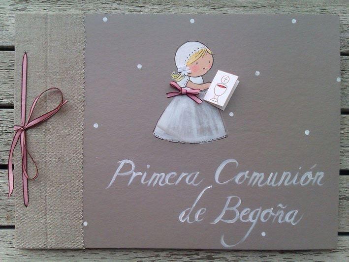 Album personalizado primera comunión