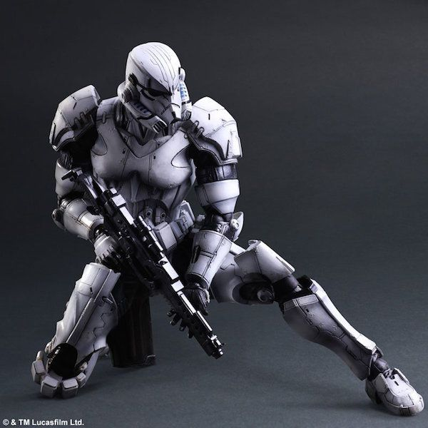 Square Enix Delivers The Most Badass Boba Fett And Stormtrooper Figures Ever