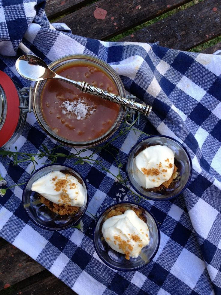 Salted Caramel Banoffee Pots