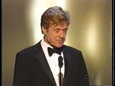 [Video] 2002 ACADEMY AWARDS ~ Barbra Streisand presents Robert Redford with honorary Oscar. (12:50)