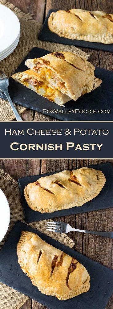 Ham Cheese & Potato Cornish Pasty Recipe #BeyondTheSandwich #Ad @walmart