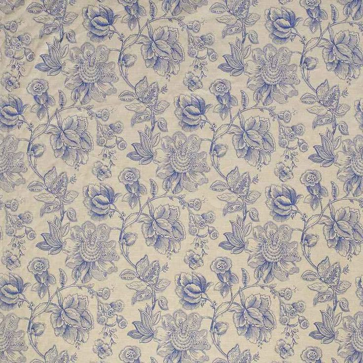 Warwick Fabrics : MANDALAY, Colour DELFT $76/m