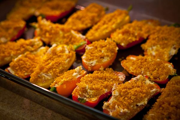Baked Jalapeno Bacon Poppers