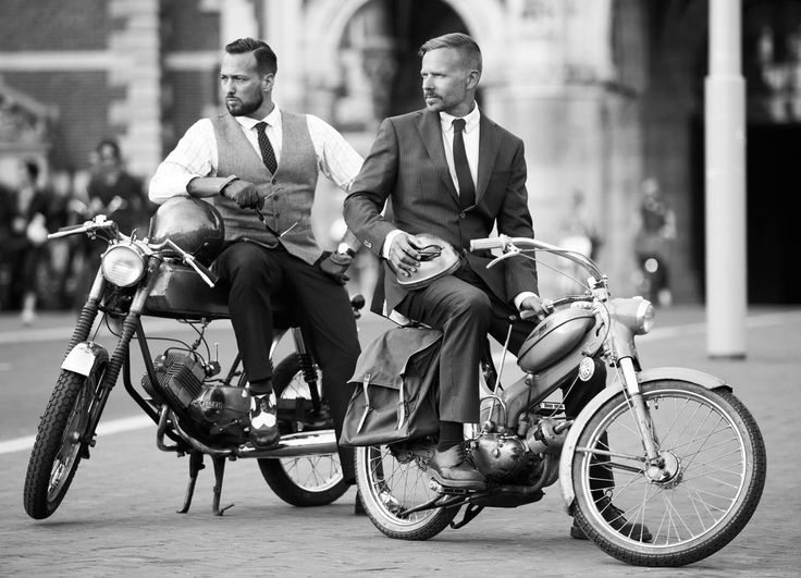 Distinguished Gentleman's Ride 2014. #Ravenna #Italy