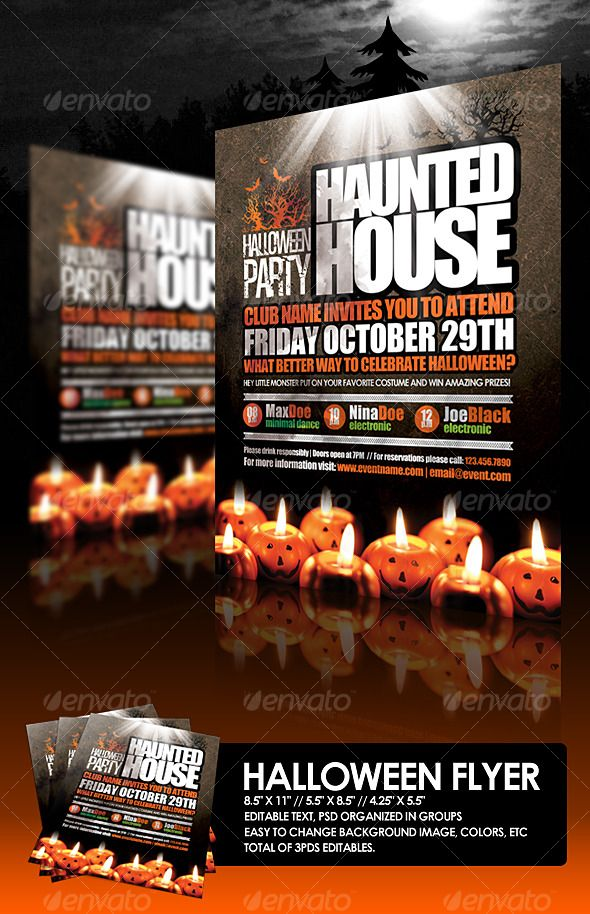 DOWNLOAD THIS FLYER HERE > http://graphicriver.net/item/halloween-flyer/127760?ref=anothergraphic