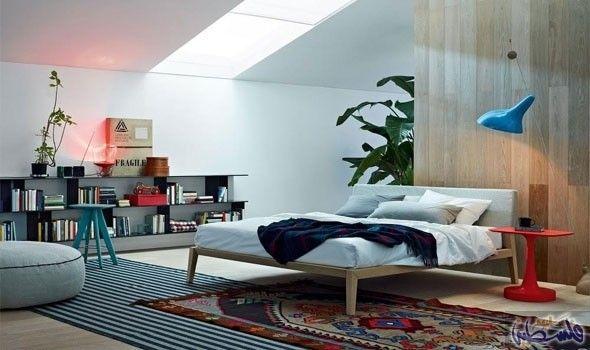 تنسيق ديكورات غرف النوم المتصلة بالحمام Bedroom Design Inspiration Bedroom Design Bedroom Interior