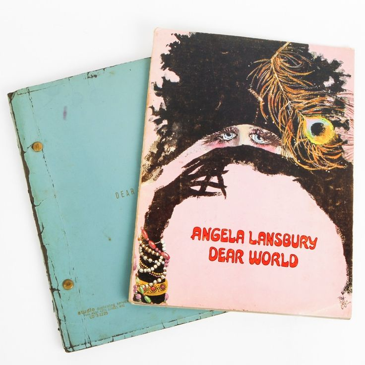 A collection of Angela Lansbury memorabilia. Included in this collection are the program from Broadway musical Dear World and the script from Dear World. The program has the date April 1969 written in on the cover page.