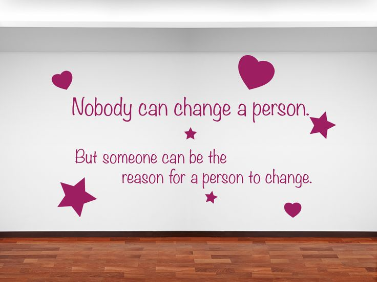 Quote From Sponge Bob: Nobody Can Change A Person. But Someone Can Be A.  Sponge BobKids Wall StickersFamily ...