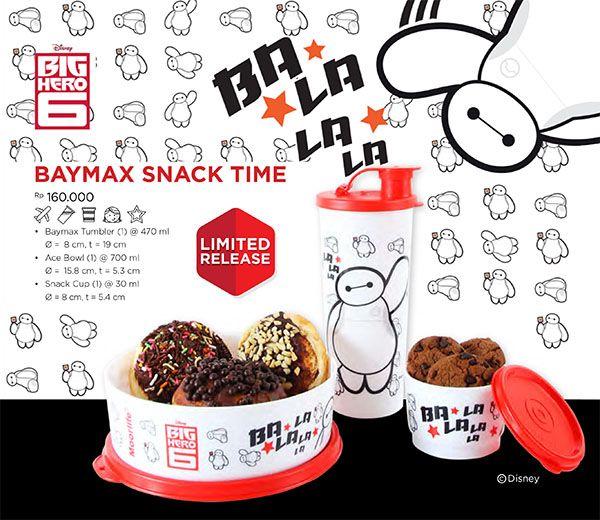 NEW!!! Moorlife Baymax Snack time set