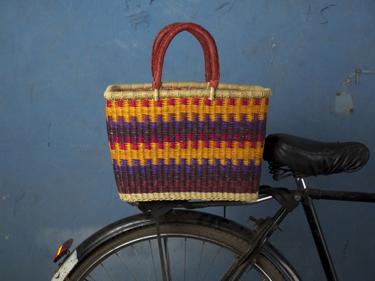 square basket for bike rack