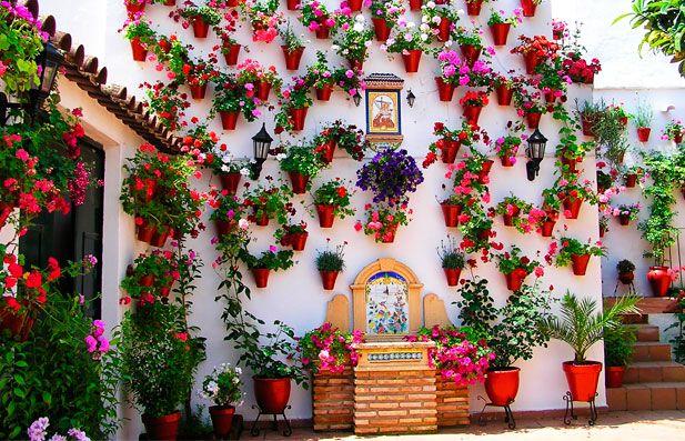 42 b sta bilderna om gardens 2 el patio p pinterest - Decoracion cordoba ...